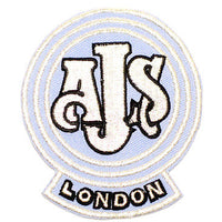 AJS patch London matchless vintage motorcycles