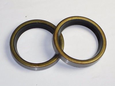 TRIUMPH fork seals 62-65 200 250cc T20 TR25W Cub 97-1461 97-1168 UK Made