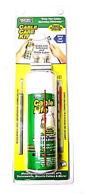 Cable Life Care Kit Motorcycle control cable brake clutch throttle lube tool