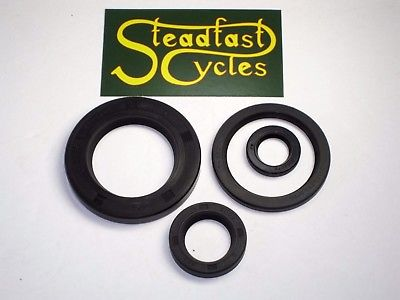BSA engine oil seal set A50 A65 seals 70 71 1972 67-0674 68-0235 68-0027 76-0291