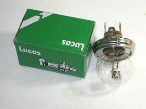 12v headlight bulb 45/40W Watt P45T 410 Lucas Green Box head light