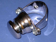 "Horn switch button Triumph Norton BSA 7/8"" chrome handlebar mount  Lucas # 76204"