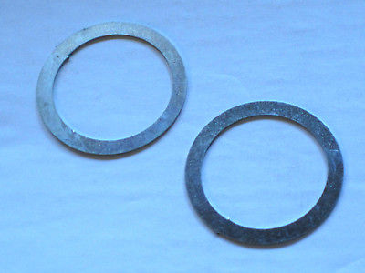 2 Fork Top Nut Washer spacer Triumph BSA 97-4166 UK Made Norton NMT320