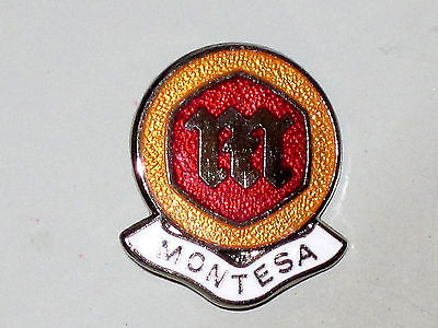Montesa lapel pin made in England classic vintage motorcycle