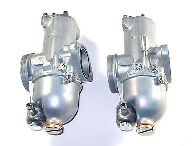 Amal Premier Carb Norton Commando 932 Carbureter Set 32mm pair left right carbs