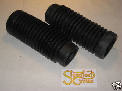 BSA B25 B44 C25 TR25 gaiters gaiter set pair 97-2513 rubber bellows unit singles