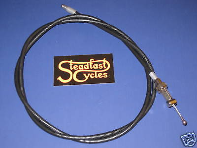 "48"" short BSA clutch cable 60-2081 A65 A50 1962 63 64 65 66 67 68 clubman cafe"