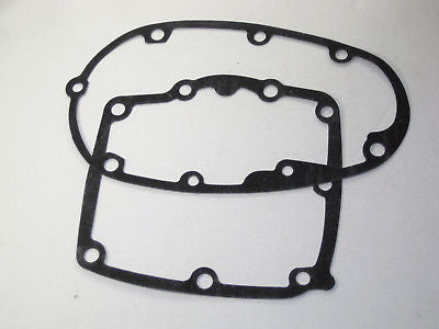 Pre-unit inner and outer gearbox cover gaskets Triumph 650 trans gasket pair