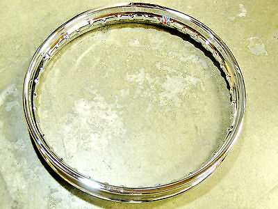 Triumph Rear 37-1007 Stainless Steel Rim WM3 X 18 500 650 Twins Bonneville Tiger