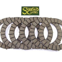 6 Friction clutch plates drive plate set Triumph 750 650 350 BSA 650 500 57-4762