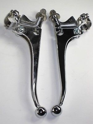 Lever set Handlebar TRIUMPH NORTON BSA CHROME 7/8
