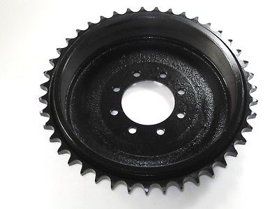 TRIUMPH rear sprocket 43T tooth 1960-67 BRAKE DRUM 37-1276 TR6 T120