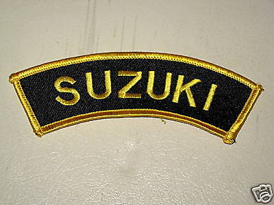 Suzuki motorcycle patch shoulder badge arm flash