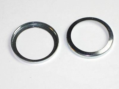 2 Triumph BSA Pushrod Seal Cup Washer 70-4746 bottom 500 650 1966 67 68 & T150