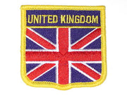 United Kingdom Union Jack embroidered Patch red white and blue
