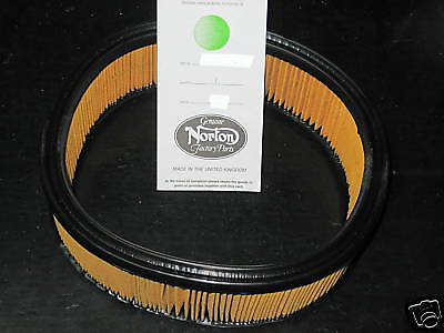 Norton Commando air filter cleaner element 06-0673 UK Made 1970 71 72 73 74 75