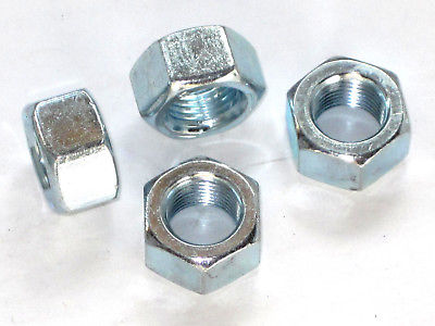 "4 Nuts nut 1/2"" x 20 tpi Triumph 14-0305 UK MADE takes whitworth socket"