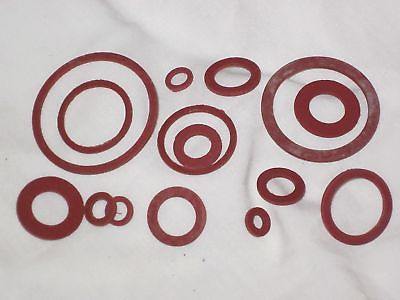 Fiber washer set Triumph Norton BSA assorted washers assortment UK Made