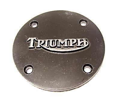 Triumph logo points cover single cylinder 4 hole / 3
