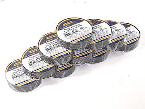 "10 roll pack of 3/4"" electrical tape / Quality Motorcycle & Auto wiring supply"