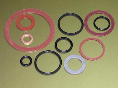 Triumph oil seal o-ring sealing washer kit set unit 650 1963 to 72 fiber washers
