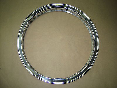 Akront Morad Valanced Norton Rear Disc Rim 19 x 1.85 WM2 1975 MK3 06-6119