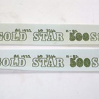 2 decal set BSA Gold Star 500 SS varnish transfer set 60-3266 AE1932