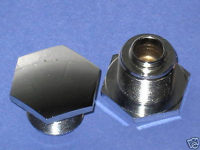 Fork top nuts tube caps Triumph pre-unit early to 1959 97-0432 / A