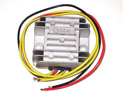 Voltage regulator rectifier capacitor Triumph Norton BSA 12V no battery  needed