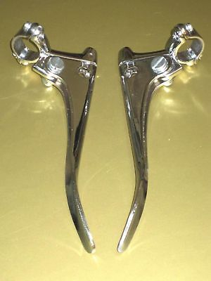 Brake Clutch levers pair left right hand Triumph blade