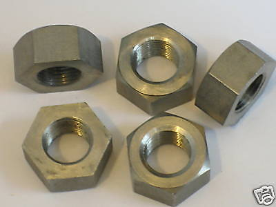 CEI 7/16 x 26 tpi fine Cad plated nuts Triumph BSA 1959 to 1968 Cycle Engineers