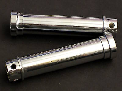 Triumph pushrod tubes UK made chrome 750 twins 1973 up T140 TR7 5 speed Twin