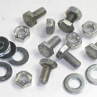1971 and up Triumph fender bolt set and Washer nut 1/4x1/2-28 14-0101 14-1201