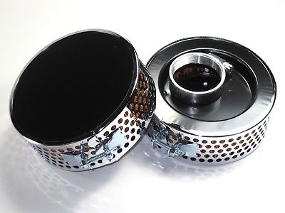 Triumph BSA Amal Offset Air Filter set Filters 83-1537 82-6432 Bonneville T120