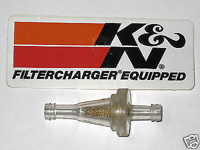 K & N Small fuel gas filter 1/4