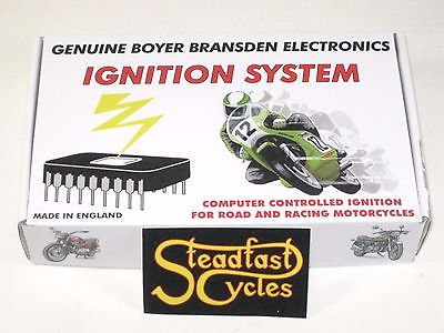 BOYER BRANSDEN electronic ignition Trident Triple Triumph BSA UK MADE T150 T160