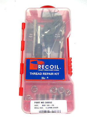 "CEI BSC 3/8"" x 20 tpi Thread repair kit Triumph Norton 1939  to 1968 helicoil"