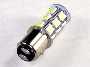 LED taillight bulb positive ground Triumph Norton BSA replaces 380 Lucas