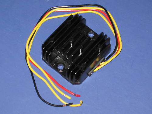 Battery eliminator 2 wire 12v rectifier regulator capacitor single phase power box