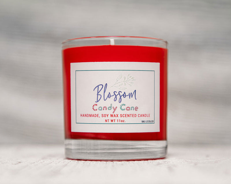 Candy Cane 11 oz. Soy Wax Candle – Seasonal