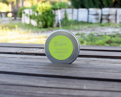 Eucalyptus Lemongrass 4 oz. Body Balm