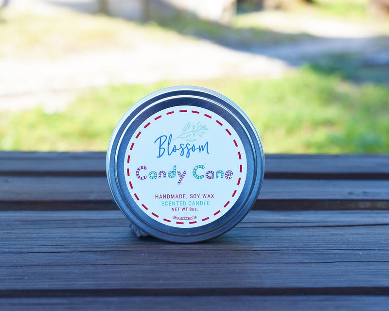 Candy Cane 8 oz. Soy Wax Candle