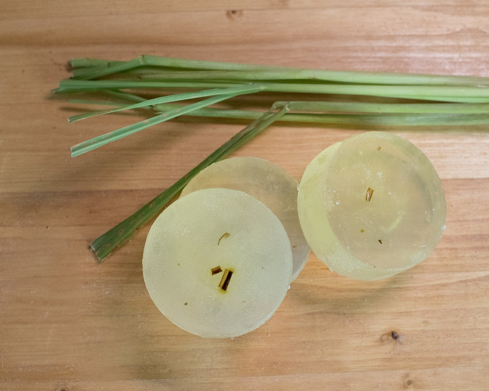 Eucalyptus Lemongrass 4 oz. Aloe Vera Soap