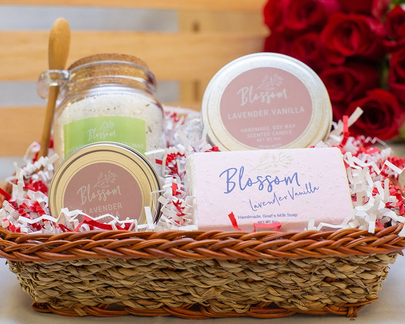 4-Piece: Package A Valentine's Basket