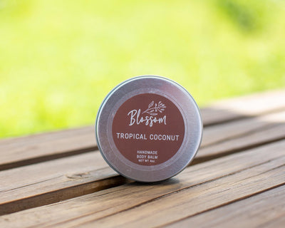 Tropical Coconut 4 oz. Body Balm