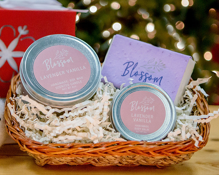 3-Piece Holiday Gift Basket: Package B