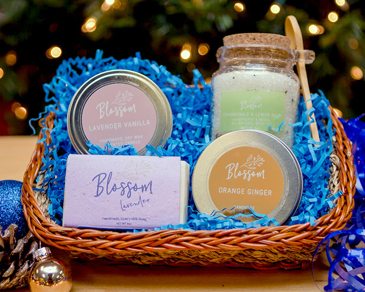 4-Piece Holiday Gift Basket: Package B