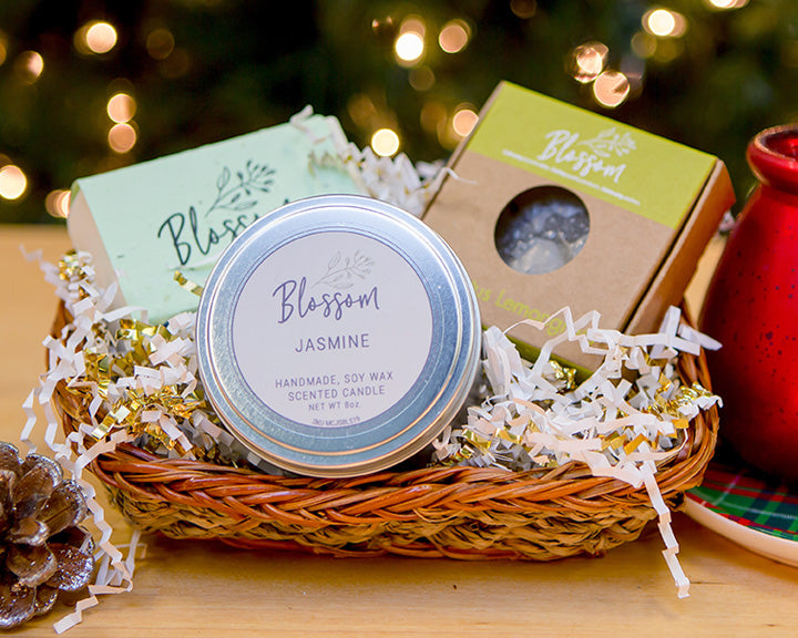 3-Piece Holiday Gift Basket: Package C