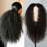 Super Fluffy Sexy Curly 360 Lace Wig | Remy Human Wig | Black/Brown Wig