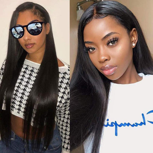 Brazilian Straight Lace Front Human Hair Wigs Lady Wig